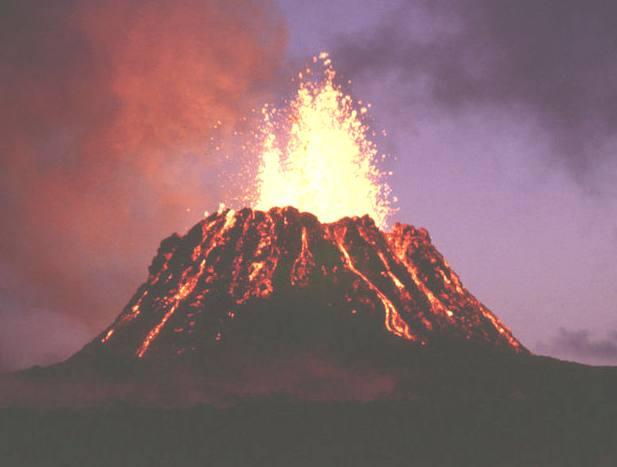 volcano hawaii kilauea Puu oo Rochas e solo para crianças